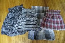 4 Women's/Jrs. Strapless Halter Tops (one is a dress), Size Large