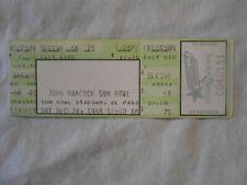 John Hancock@ Sun Bowl Full Concert Ticket Free shipping