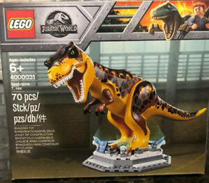 Exclusive LEGO 4000031 Limited T Rex. Jurassic World: Fallen Kingdom 1 Of 500