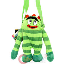 "Yo Gabba Gabba Brobee Plush Doll Mini Shoulder Bag 10"" Body Cross Bag"