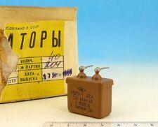 4x Russian Paper Oil Capacitor 0.5uF 400V 5% Military Grade PiO Mbgp-1 0,5uF