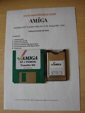Transfer Kit .adf PCMCIA CF Compact Flash Commodore Amiga 600 o 1200.