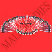 "V025 Acrylic Clear Stretchers Tapers Expander Ear Plugs 14G to 1"" Gauges Studs"