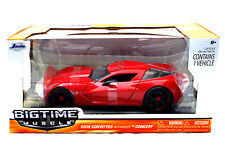 JADA  2009 CORVETTE STINGRAY CONCEPT RED 1/24 DIECAST CAR AUTO 96730