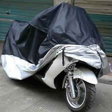 Black+Silver Motorcycle Cover XXXL For Harley H-D Street Glide 400cc 1100cc