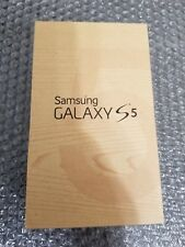 New in Box Samsung Galaxy S5 AT&T Only Black 16GB Lite SBI Clean ESN
