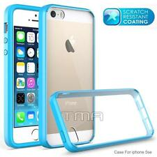 iPhone SE 5 5S Ultra Slim Transparent Clear Impact Rubber Case Bumper TPU Case