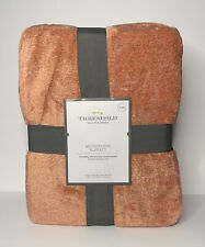 Threshold Microplush Blanket Colonial Rose King Size