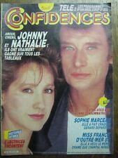 CONFIDENCES 1970 (5/9/85) JOHNNY HALLYDAY NATHALIE BAYE