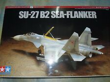 Tamiya 1/72 SU-27 B2 Sea-Flanker Model Aircraft Plane KIt #60757
