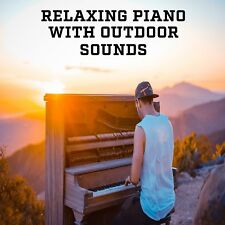 RELAXING PIANO MUSIC & OUTDOOR SOUND CD FOR SPA STRESS RELIEF MASSAGE DEEP SLEEP