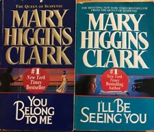 Mary Higgins Clark Paperback Books Lot of 2