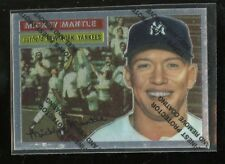 1996 TOPPS FINEST #135 MICKEY MANTLE YANKEES REPRINT  MINT D017563