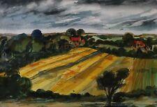 KENT LANDSCAPE BY PAMELA GUILLE ARCA - MODERN BRITISH ARTIST