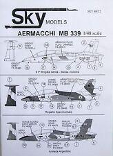 Skymodels 1/48 48022 Aermacchi MB339 decal set