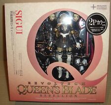 REVOLTECH QUEEN'S BLADE REBELLION 014 SIGUI 2P COLOR VERSION KAIYODO 2012