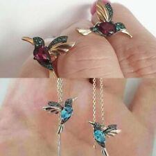 Elegant Simulation Hummingbird Stud Earrings Women Drop Dangle Jewelry Wholesale