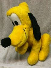 "PLUTO walt disney characters VINTAGE california stuffed toys animal DOG 16"" inch"