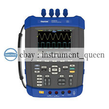 Hantek DSO8072E Handheld Oscilloscope 2M Memory,6000 Counts DMM+DSO+ AFG 70MHZ