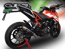 SILENCIEUX GPR DEEPTONE CARBONE KTM DUKE 125 2017/2018
