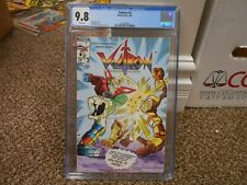 Voltron 3 cgc 9.8 Modern 1985 Nm Mint White pgs Defenders of the Universe Tv toy