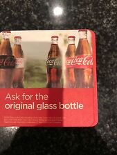 Coca-Cola Cardboard Drinks Coasters Approx 100 Pub Shed Bar Man Cave