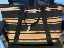 Victoria Secret Pink and Black Large Tote Bag