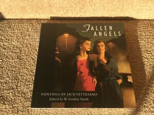Jack Vettriano Hand Signed Book, Fallen Angels