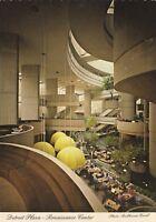 """*Michigan Postcard-""""Detroit Plaza...Renaissance Center"""" /Detroit River/"""