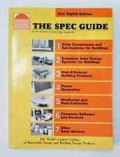 The Spec Guide Solar Age magazine 1986 8th Edition catalog of energy products