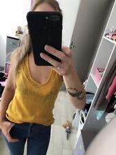 Debardeur Moutarde Femme Taille S - Mim