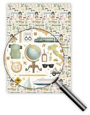 *QUIRE*Exclusives*Geschenkpapier 50 x 70cm*Urlaub* Reisen&Accessoirs*