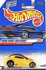 Hot Wheels 928 Chrysler Pronto, 1999 First Editions 23/26, Cars & Cards Mint