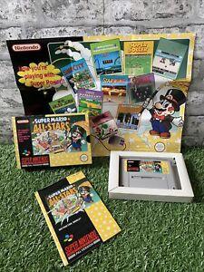 Super Mario All Stars • SNES Super Nintendo• Boxed• Excellent Condition • PAL