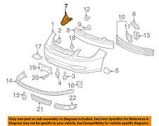 GM OEM Front Bumper-Upper Bracket Right 15261796