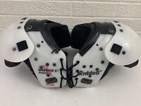 Riddell Warrior II W-80 Football Shoulder Pads Small Chest 28-30 Shoulder 11-12