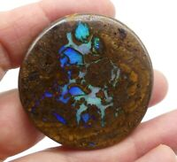 Australian Boulder Opal, Solid Natural, Polished Gem, loose opal, Lapidary 10186
