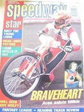 SPEEDWAY STAR MAGAZINE MAR 1998 MEET YOUNG LIONS DICKO JOINS POTTERS LOUIS BEES