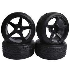 6mm offset HSP RC 1:10 On-Road Drift Car Hard Plastic Tires Wheel Rim 7077-9015