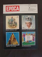 EPOCA 5 1965 Ägypten Elizabeth II Marcello Mastrianni Arthur Schopenhauer Dante