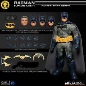 Mezco ONE:12 Collective MDX Batman Supreme Knight Darkest Dawn Edition Fast Ship