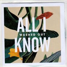 (EO738) Washed Out, All I Know - 2013 DJ CD