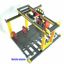 LEGO City/ Ferrovia (60052) AUTOCARRO/ VAGONE Verladestation / Container Gru
