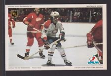 1971-72 NHLPA PRO STAR PROMOTIONS HOCKEY  PHOTO  LAFLEUR - BERGMAN   INV A3748