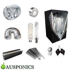 600W DIGITAL BALLAST/HPS+MH/Reflector/Ducting/Fan/Tent (1x1x2M) Kit