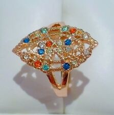 Simulated Rose Gold Fine Jewellery