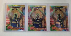 1993-94 Topps Finest Chris Webber #212 Warriors HOF 🔥  LOT OF 3 MINT