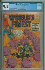 WORLD'S FINEST COMICS #108 CGC 9.2 OW/WH PAGES