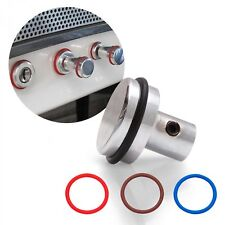 Retro Series machined Knob With 4 Colored Rings KICBWKA01 rat