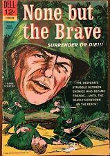 Dell 1965 None But The Brave Frank Sinatra Cover Silver Age Comic Book 12 Cents
